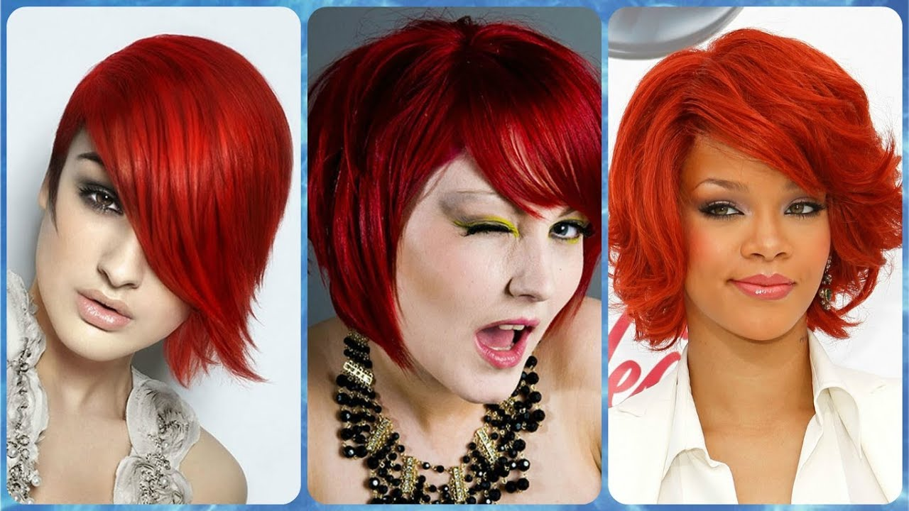 20 Hottest Ideas For Trendy Hairstyles For Red Hair Colors For Short