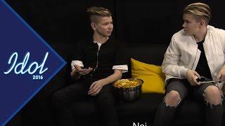 Pär Lernström hänger med Marcus och Martinus - Idol Sverige (TV4)