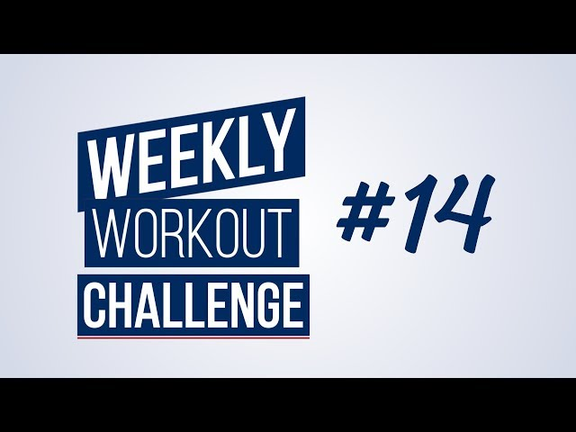 Weekly Workout Challenge #14 | Renaud Center