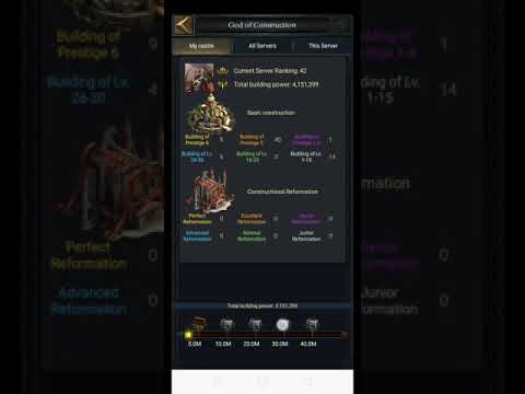 Clash Of Kings : God Of Construction Event Trick Rewards