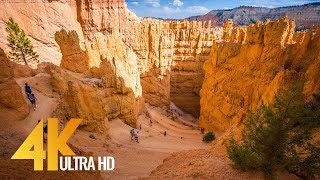Bryce Canyon National Park - 2160p 4K Relaxation Video with Music - 2 HRS