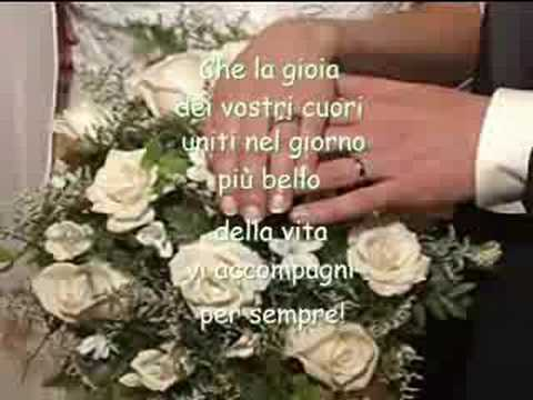 Auguri Agli Sposi 07 072008 Youtube
