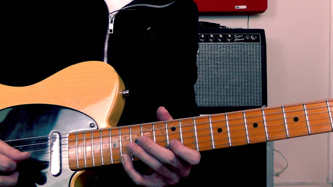 Pedal Steel Lick For Guitar