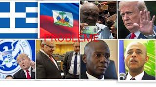 13AOÛT MARTELLY GRO PROBLÈME AK JOVENEL RDONALD TRUMP BAY MIGRANT HAÏTIE LIBÉRÉ GREC NEWS