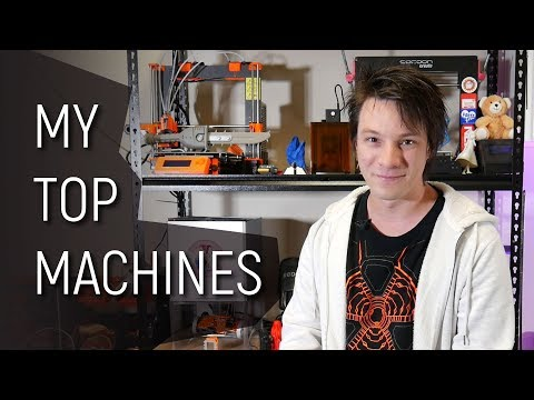 My TOP 3D Printers for the 2019 Maker's Muse Studio (FDM/FFF)