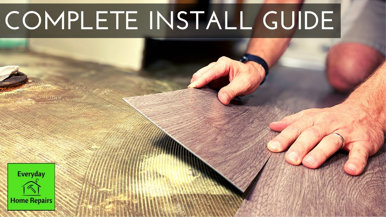 How To Install Glue Down Vinyl Plank