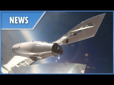 Virgin Galactic's First Space Flight Is A Soaring Success