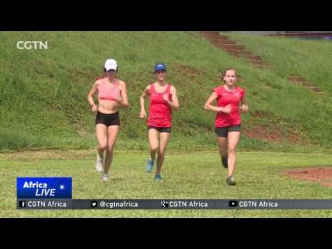 Team USA in Uganda ahead of the IAAF World Cross Country Championship