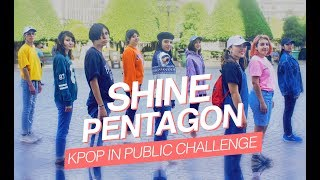 [KPOP IN PUBLIC MEXICO] Pentagon (펜타곤) - SHINE Dance Cover  [The Essence]
