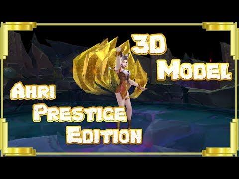 K/DA Ahri Prestige Edition 3D Model - Spotlight