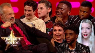 Golden Globe Winners On The Graham Norton Show!
