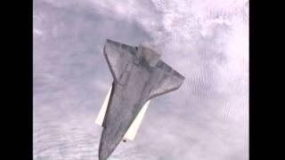 Atlantis Performs RBAR Pitch Maneuver