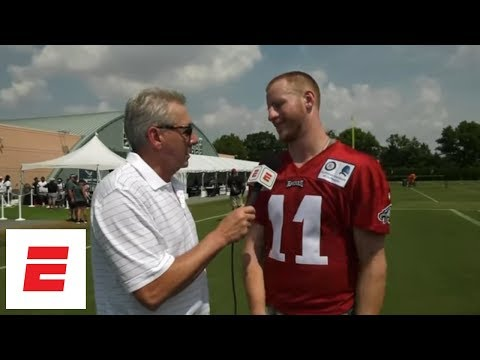 Carson Wentz exclusive interview: On health, whether he'll start season opener, more | ESPN