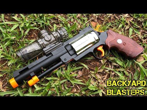 [RANGE TEST] Full Metal Alloy Revolver Gel ball Shooter