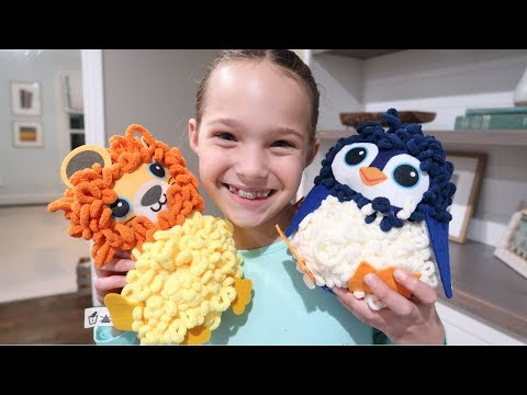 Creating DIY Loopies Plush and Sharing 15 Facts About Tic Tac Toy!