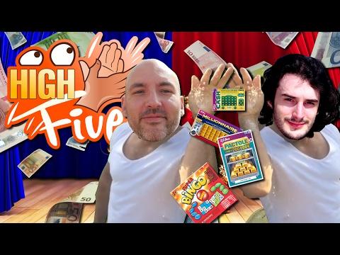 High Five ! - LA HYPE WTF DES JEUX A GRATTER ! - Fanta et Bob Talk Show