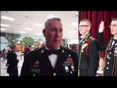 Enlistment Ceremony @ George County High School
