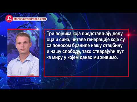 DRAŠKO STANIVUKOVIĆ Objasnio Ideju O PARKU MIRA U Banjaluci