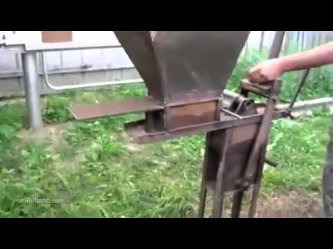 The brick making machine - funny invention