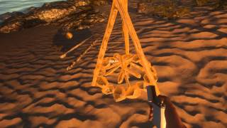 Stranded Deep, How To Make Campfire, Fire Pit, Fire Spit & Cook