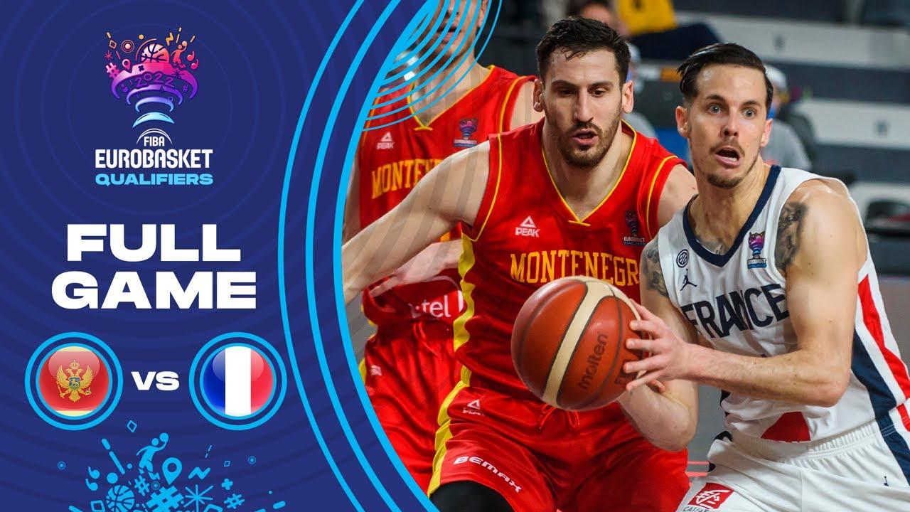 Montenegro v France | Full Game