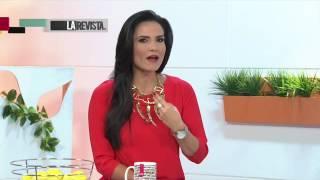 LUISA VIDES en LA REVISTA CMI CANAL UNO TV