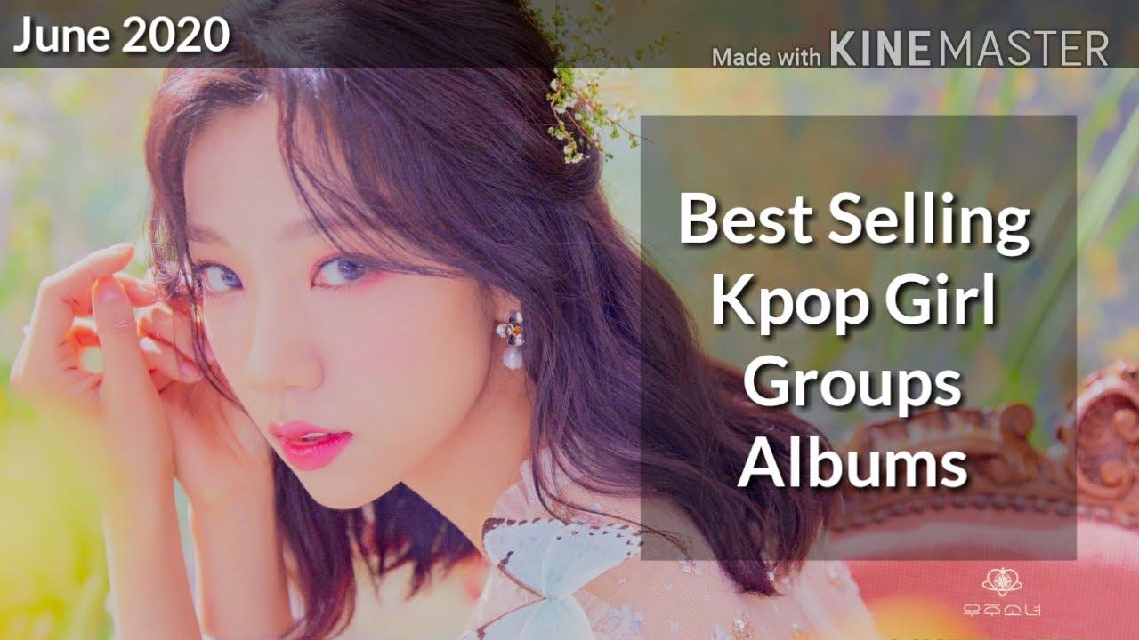 Best selling kpop girl groups albums of 2020 (June)