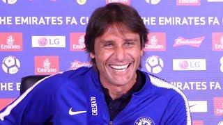 Antonio Conte Full Pre-Match Press Conference - Chelsea v Manchester United - FA Cup Final