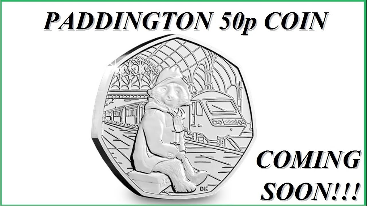 paddington bear 50p # 50