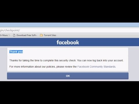 [Easy] Facebook Image Verification Solution ! 100% Working ! Bypass Security Check