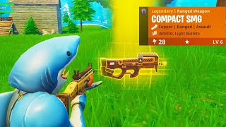 "NEW ""COMPACT SMG"" GAMEPLAY in Fortnite! - NEW Fortnite COMPACT SMG GAMEPLAY (COMPACT SUBMA"