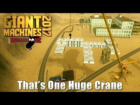 Giant Machines 2017 - That's One Huge Crane