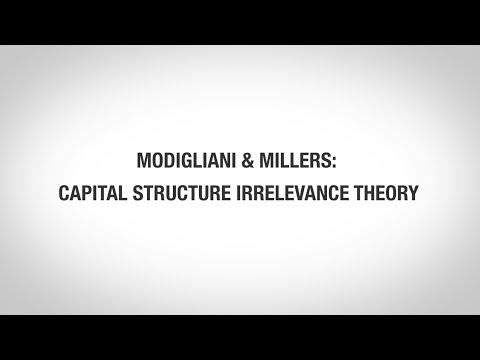VISDM Modigliani and Miller