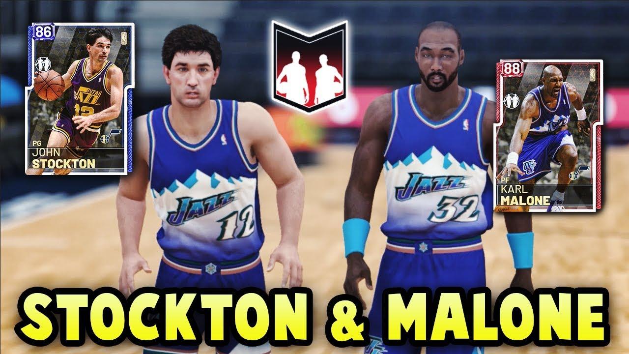 8dd744805 NBA 2K19 RUBY KARL MALONE   SAPPHIRE JOHN STOCKTON DYNAMIC DUO ...