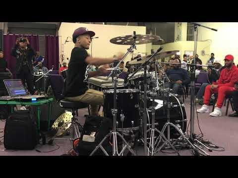 Tony Taylor jr. killing on the drums 2018
