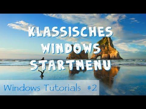 Klassiches Windows Startmenü (Classic Shell) [Deutsch/HD]