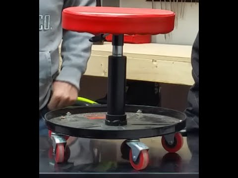 Harbor Freight Rolling Stool 46319 Youtube
