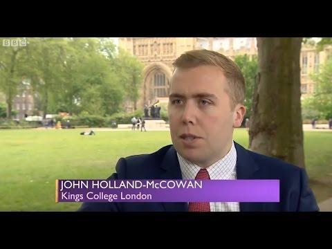 John Holland-McCowan on BBC's Daily Politics - ISIS' territorial and financial decline