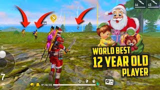 Santa Play Free Fire with 12 Year Old Boy - Garena Free Fire
