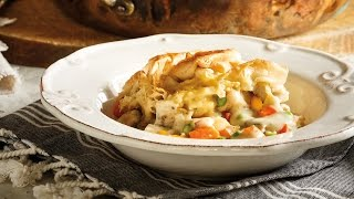 Chicken And Root Vegetable Pot Pie | 2015 Milk Calendar