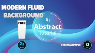 Abstract Background #2 - Blend Tool  - Adobe Illustrator CC 2019