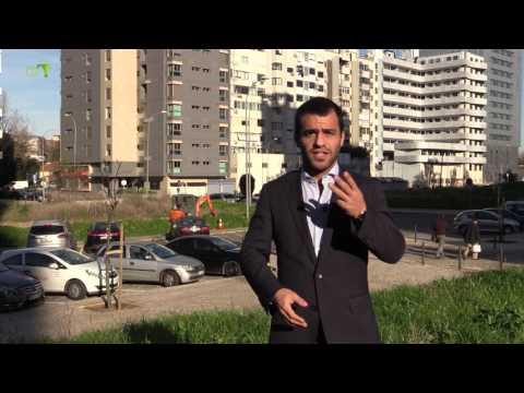 Obras em Campolide (06) - Rua Eduardo Malta