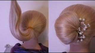 СУПЕР ПУЧОК ЛЁГКАЯ ПРИЧЁСКА САМОЙ СЕБЕ Красивые быстрыe причёски на каждый день CUTE HAIRSTYLES