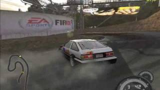 Need For Speed Pro Street AE86 Ebisu Drift Collection