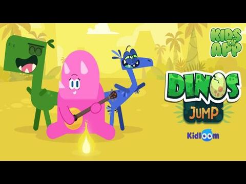 Dinos Jump - Dinosaur action game for kids (Kidloom) - Best App For Kids
