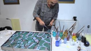 Эбру - турецкое искусство рисования на воде1