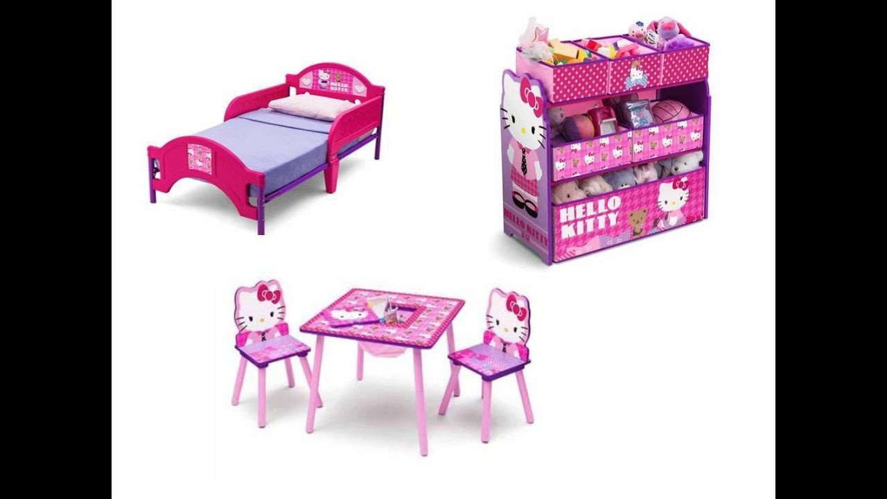 Toys R Us Table And Chairs For Toddlers Folding Chaise Lounge Chair Plastic Hello Kitty Toddler Bed Youtube