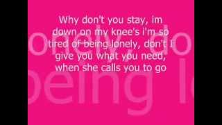 Stay-Sugarland lyrics