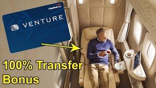 Capital One Miles 100% Emirates Transfer Bonus!! (limited time offer) thumbnail