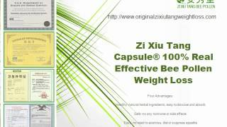 Zi Xiu Tang Capsule® 100% Real Effective Bee Pollen Weight Loss